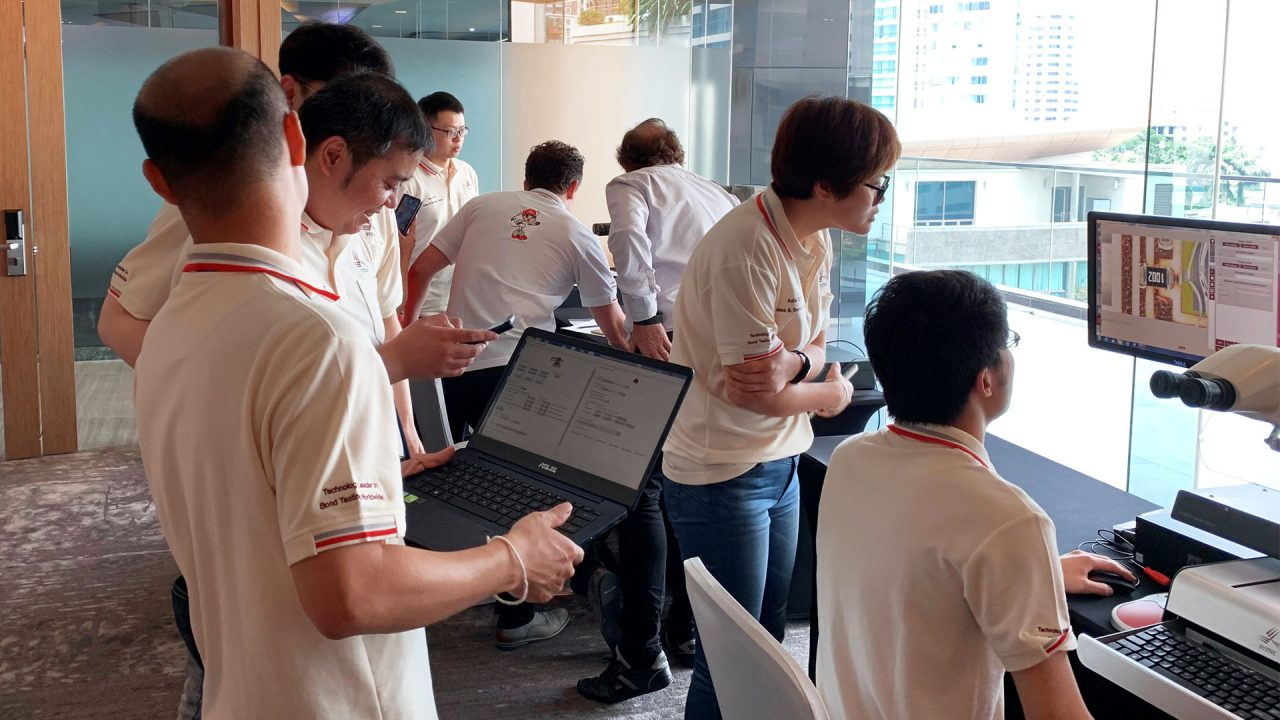 Xyztec training in Bangkok