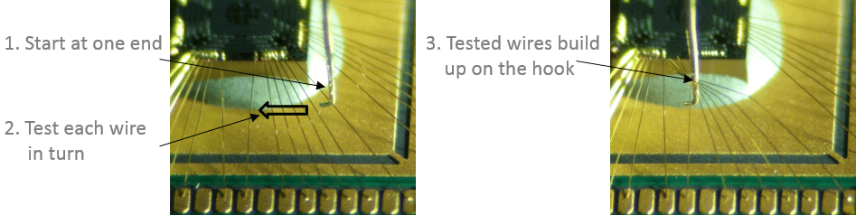Manual test thin wire
